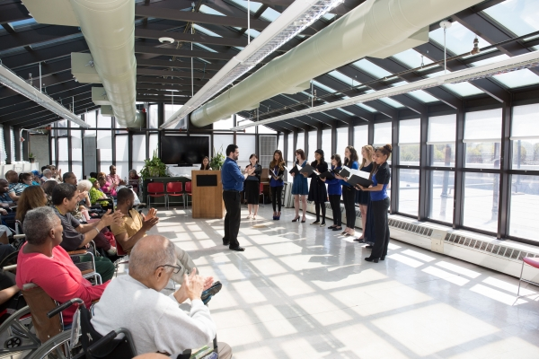 Jubilee Chorus Holds Mission Event at NYC's Richmond Center for Rehabilitation