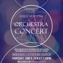 Jubilee Orchestra Concert Poster