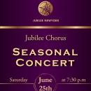 Jubilee Chorus Presents Seasonal Concert in New York City
